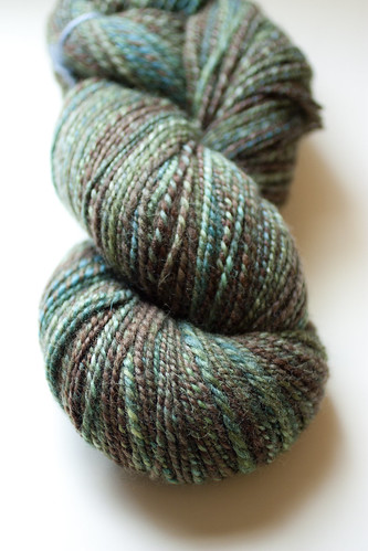 new handspun yarn