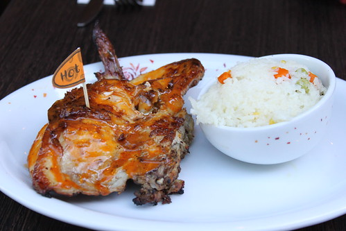 Nandos Quarter Chicken set