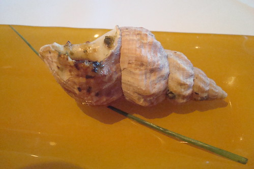 Sea snail amuse bouche