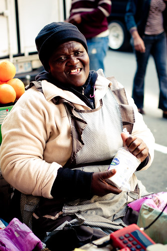 Jozi walkabout - street vendor