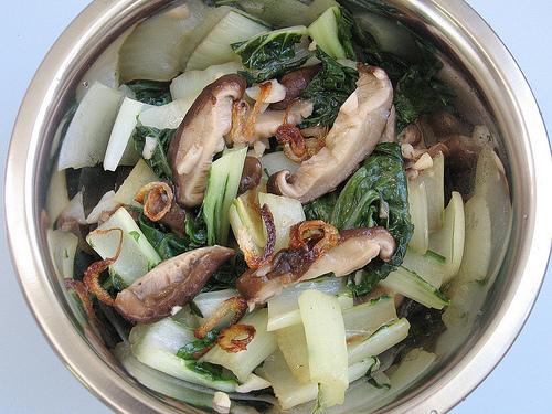 Stir-fry Baby Choi Sum @ Teczcape An Escape To Food