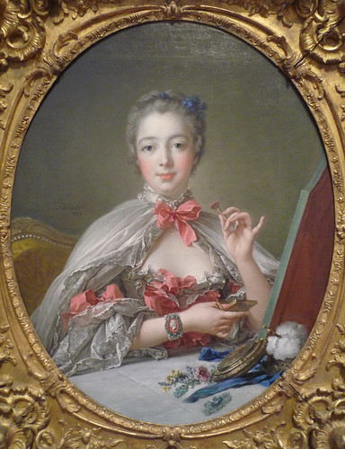 François Boucher, Madame de Pompadour, oil on canvas, 1750