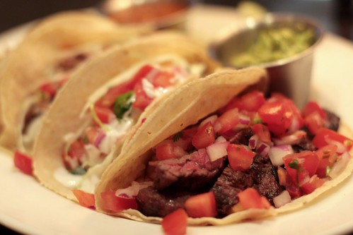 Coast Restaurant - steak taco, snapper taco