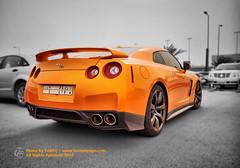 GTR   Saudi Arabia [Explored] (Tareq Abuhajjaj   Photography & Design) Tags: red orange car sport japan speed lights nikon nissan power top wheels fast twin gear turbo saudi rims 1770 2008 2009 supercar 38 spoiler 2010 gtr ksa تصميم تي tareq جي r35 نيسان 24120 فليكر برتقالي نيكون مصور طارق ار رياضي سريع d700 رياضية تيربو شاحن برتقالية سريعه foilacar جنوط برتقاليه رنجات tareqdesigncom tareqmoon tareqdesign أبوحجاج فوتورغرافي