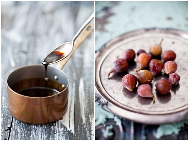 Balsamic Vinegar Syrup  & Figs