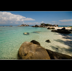 Perhentian Island Besar - Malaysia (Lucie et Philippe) Tags: voyage travel beach island islands vacances holidays ile malaysia perhentians malaisie iles besar