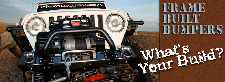 Jeep TJ Bumper at Prarie City with MetalCloak What is Your Build