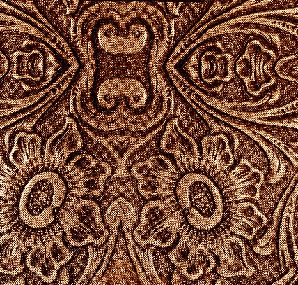 Embossed Leather Design