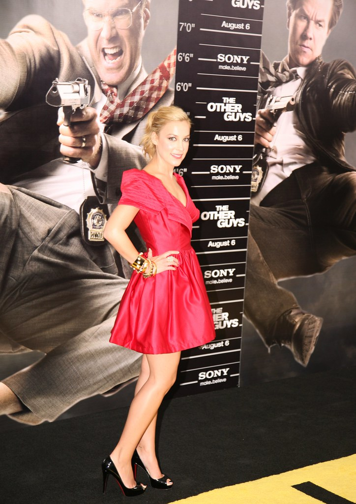 Lindsay Sloan, The Other Guys Movie Premiere, New York City