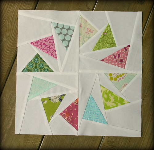 Jessica's Sample Block - Circle of Geese