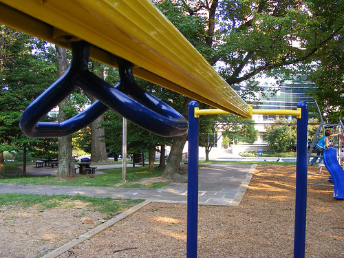 Woodside Park New Zip Line