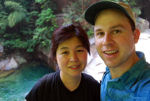 k53 - Chunlin and Mark in Emerald Valley