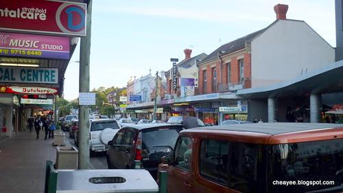 Strathfield street