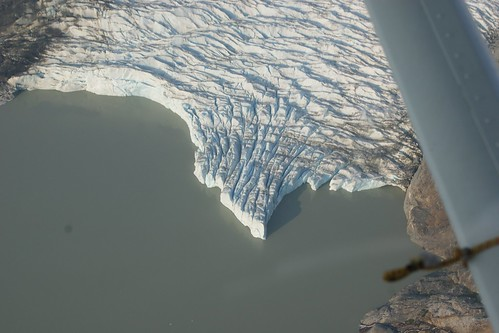 Toe of glacier