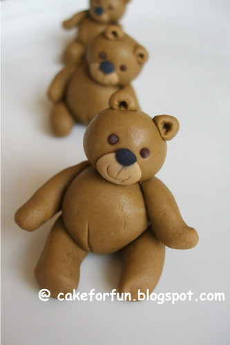 Teddy Bear Fondant