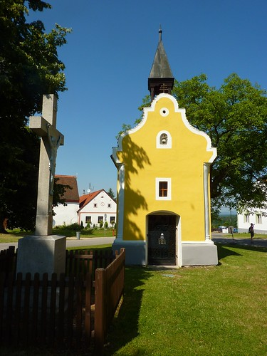 Chapel, Holašovice, Czech Republic