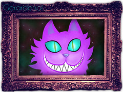 Gato de Chester (ϟ |Gerardeno0| ϟ) Tags: las en cat de cheshire alicia el chester gato wonderland pais aliceinwonderland maravillas aice gatodecheshire