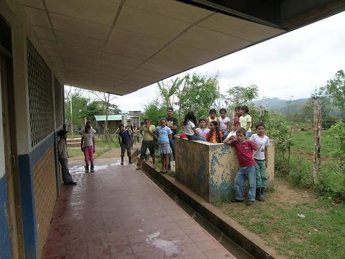 Escuela Río Grande en Jinotega (Nicaragua)