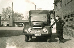 altes DDR Foto - Phnomen Robur Granit LKW (www.nb-fotos.de) Tags: blackandwhite bw truck foto alt ddr schwarzweiss gdr lkw ostalgie ifa granit robur phnomen garant