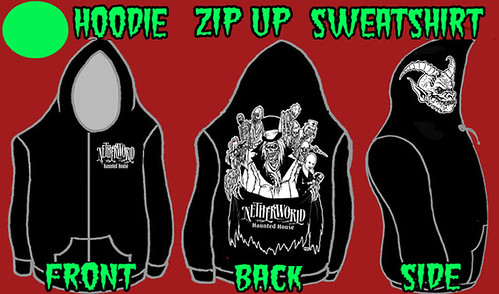 NETHERWORLD Haunted House Hoodie Sneak Peek