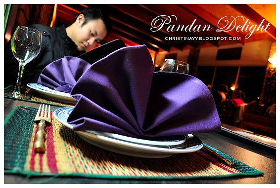 Pandan Delight: Browsing the Menu