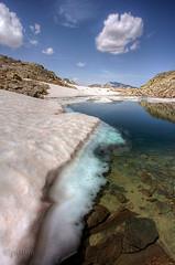 cold Water (puma63) Tags: mountain lake snow alps nature trekking walking landscape lago hiking natura neve alpi montagna potofgold puma63
