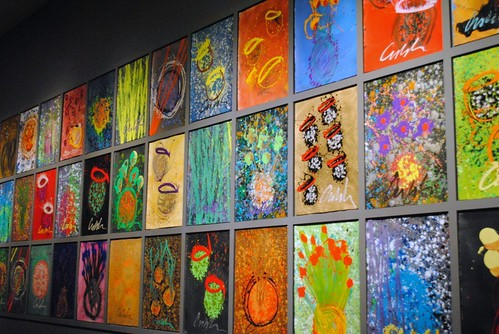 chihuley's paintings at the frist center