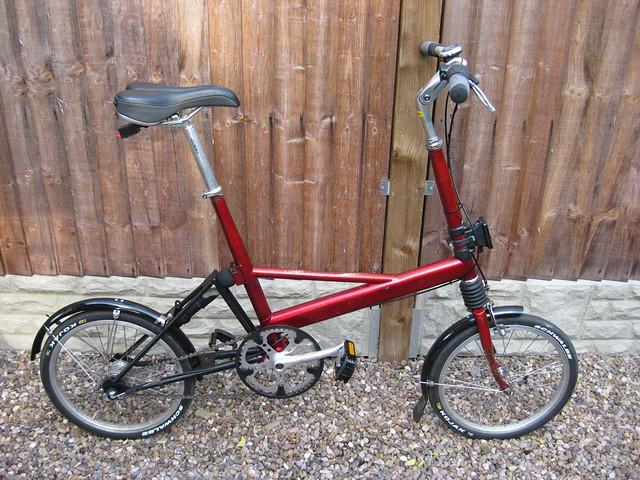 Sac avant de marque Brompton sur un autre vélo pliabe (Dahon, Birdy,...) - Page 2 4869397626_538acbb1e4_z