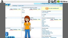 Screenshot of Scomm with T-Girl