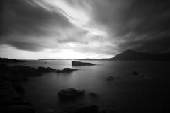 Elgol, Skye (Danny Beattie) Tags: longexposure blackandwhite skye water rocks elgol weldingglass sonya550 diypfav