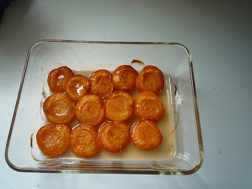 Honey Roasted Apricots