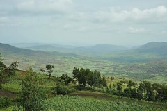1a. High in the Ahmar Mountains, 20km after Asbe Teferi