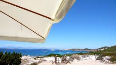 Veduta dal bar - View from the bar (Ola55) Tags: sardegna sea italy sand mare italians sabbia lamaddalena aplusphoto bellitalia baiatrinita worldtrekker yourcountry ola55