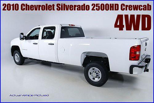 chevrolet cab 4wd crew silverado picnik 2010 2500hd