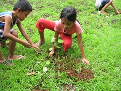 A Tree Planting activity in celebration of the Pistang Gubat at Inosari Agro-forest Farm