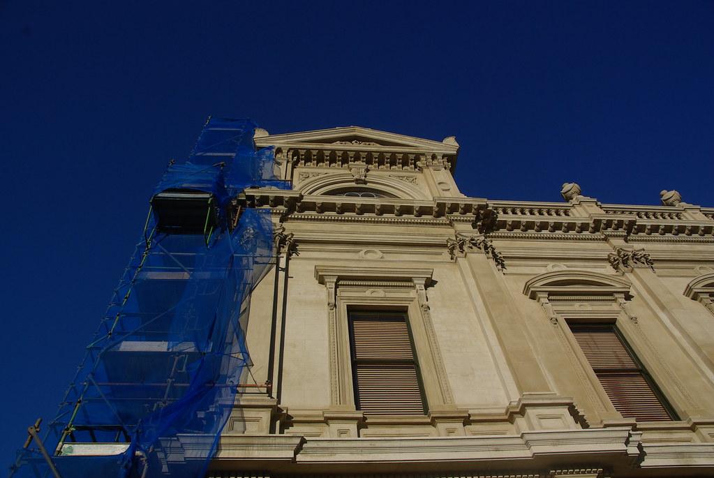 Ballarat Town Hall restoration 7365