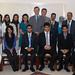 British Ambassador, Jamie Bowden, with students of HRH The Crown Prince's International Scholarship scheme