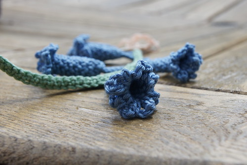 Crochet bluebells