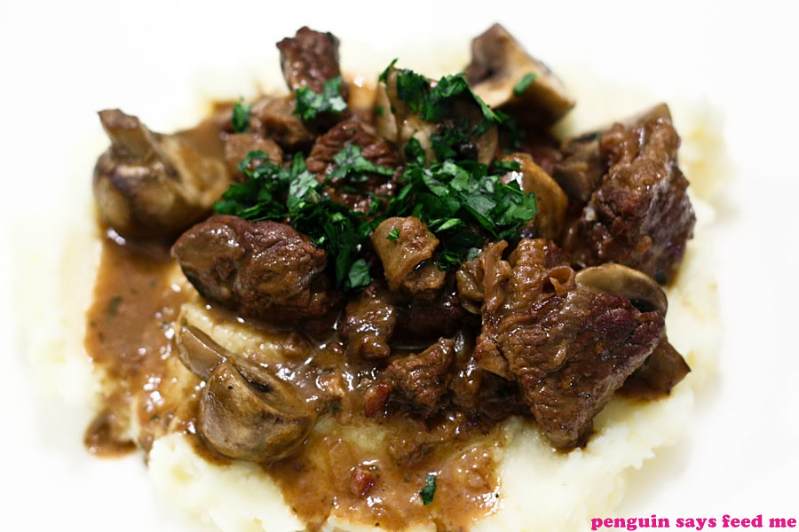 Julia Child's Beef Bourguignon | Penguin says Feed Me