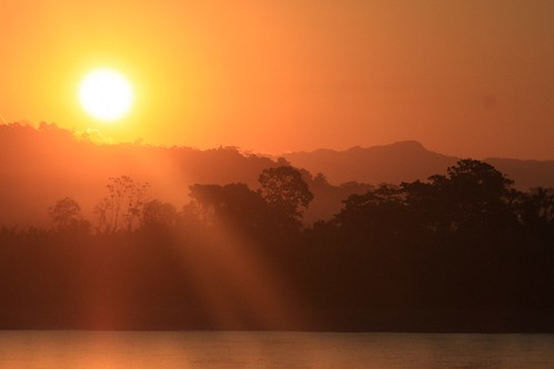 Sunset in Rurrenabaque