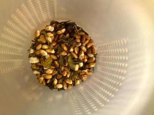 Chá de pipoca (genmaicha)