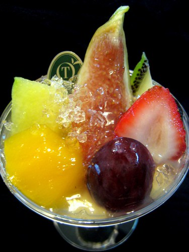 Fancy fruit dessert from TAKANO