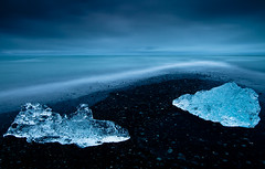 Iceland - Jokulsarlon: Cold Magic (John & Tina Reid) Tags: iceland icebergs floatingice glacierlake johnreid tinareid wwwcatchlightukcom icelandsummer wwwnomadicvisioncom jokkersalren nomvisiceland