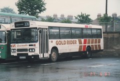 Gold Rider 1659 A659KUM (Gold Rider Mark) Tags: yorkshire rider leeds bradford huddersfield halifax todmorden atlantean fleetline national leyland optare volvo olympian vrt metrocoach pte gold bus depot station double decker single first arriva scrap barnsley jumbo metro west