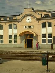 Siedlce train station (Timon91) Tags: station train poland railway siedlce trainamsterdammoscow