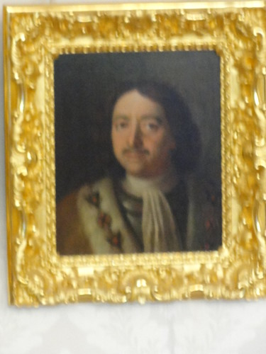 From flickr.com: Peter the Great Portrait at Catherines Palace {MID-71411}