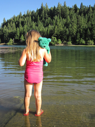 Green Bear tags along