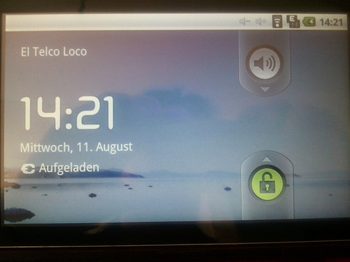 Adaptare 7 Zoll Android 2.1 Tablet Unboxing