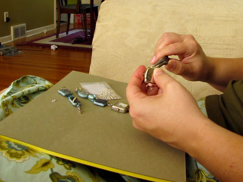 Fixing a watch