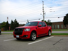 Ford Explorer Sport Trac Adrenalin (MSVG) Tags: red toronto ontario canada ford up sport truck explorer pickup etobicoke pick mississauga adrenaline malton trac sporttrac adrenalin sportrac
